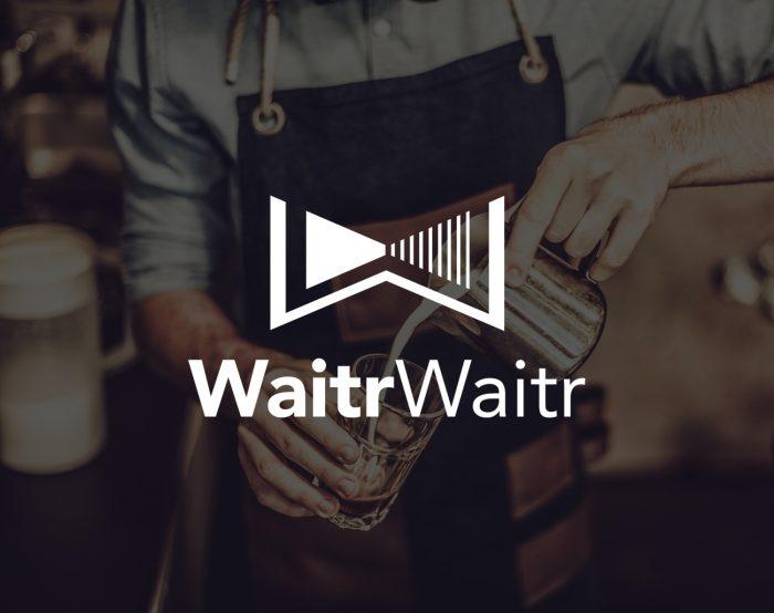 waitr-waitr-logo-design-stefan-gottwald-design